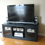 stereo cabinet with remote/CD storage